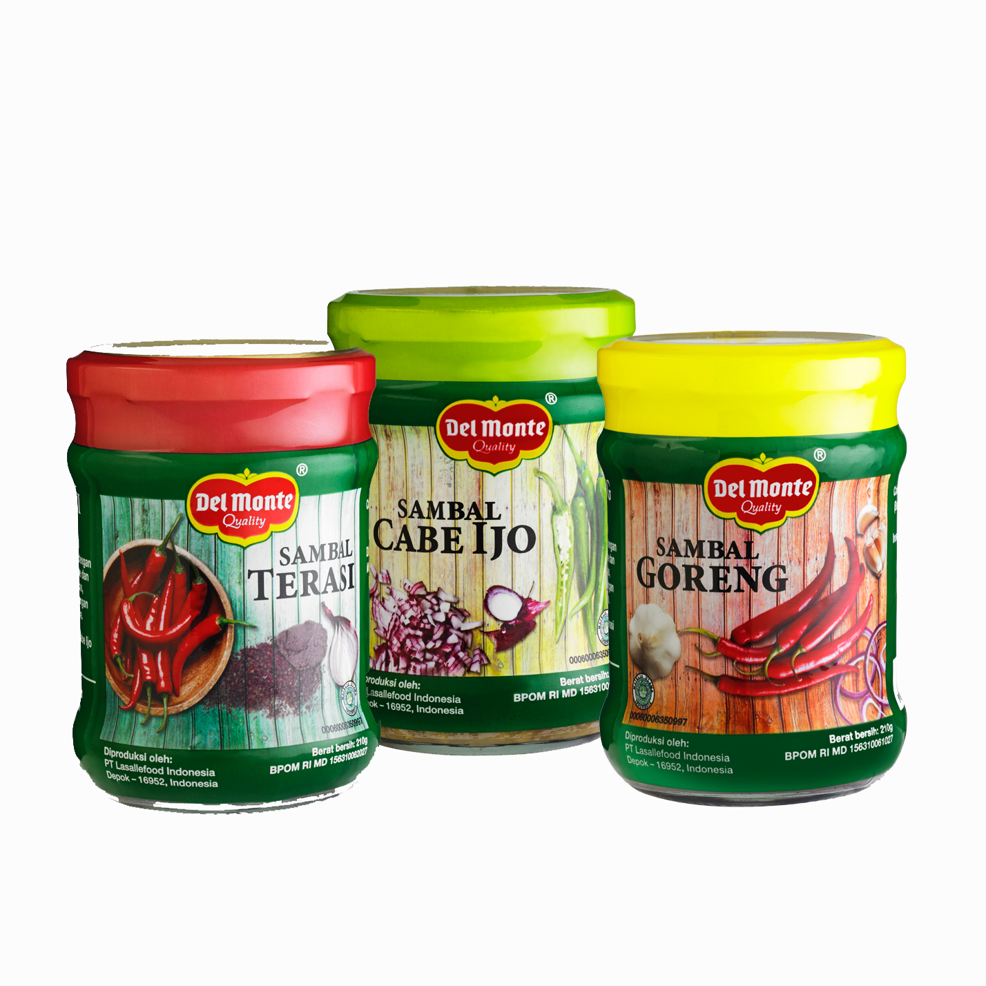 Lasallefood Indonesia Product Saos Cabe Extra Hot Del Monte Traditional Chili Sauce Is Made From Selected And Good Quality Ingredients